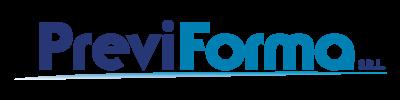 Scritta Logo Previforma SRL